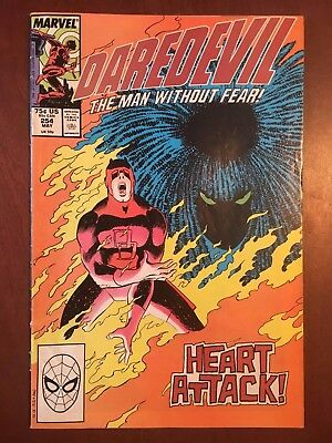 DAREDEVIL #254 - Marvel Comics 1st appearance of Typhoid Mary