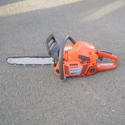 "Husqvarna 357XP 18"" Chainsaw with new engine, new chain and a spare chain."