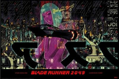 Blade Runner 2049 NYCC Rare Movie Print Raid71