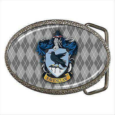NEW* HOT HARRY POTTER RAVENCLAW HOGWARTS SCHOOL Quality Chrome Belt Buckle
