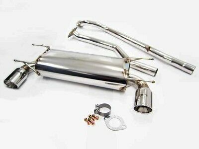 OBX Stainless Steel Catback Exhaust For 2006 2007 2008 Mazda Miata MX5