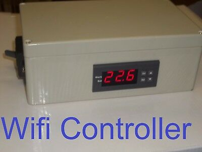 Wifi Plug & Play Temperature Controller Timer Charcoal BBQ Grill Smoker Stove