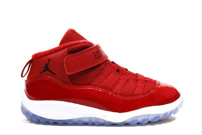 Jordan Kids Toddler Gym Red Black White 11 Retro Bt 378040-623