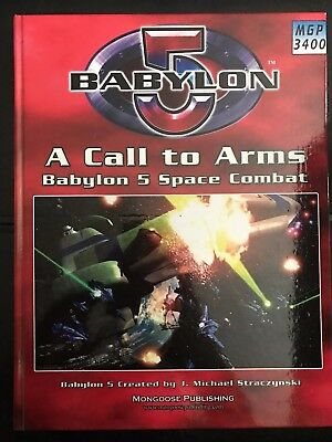 Babylon Wars 5 2nd Edition: A Call to Arms Space Combat MGP 3400
