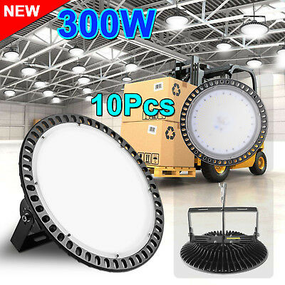 10X300W LED High Bay Light Commercial Warehouse Industrial Factory Shed AU STOCK