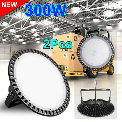 2X 300W LED High Bay Light Commercial Warehouse Industrial Factory Shed AU STOCK