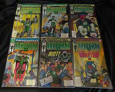 1991 Green Lantern Emerald Dawn II Complete Set 1-6 all Excellent