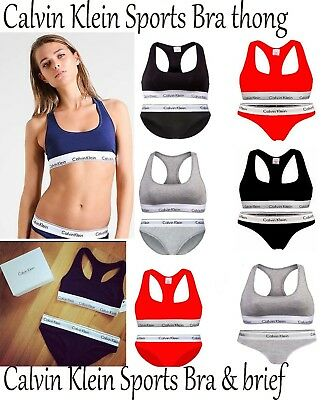 Calvin Klein Woman Underwear CK Ladies Bra & Brief set
