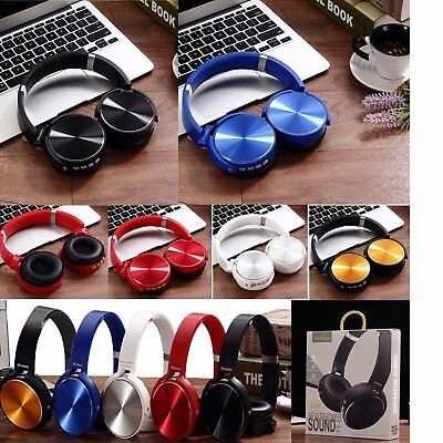 Extra Bass Wireless Stereo Headset NFC Bluetooth Headphone for Sony MDR-XB950BT