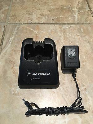Motorola HTN9014C SP50 SP50+ Standard Rate Portable Radio Desk Battery Charger