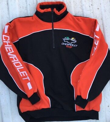 Racing Champion Apparel Chevrolet Racing Sweater Size Adult Large
