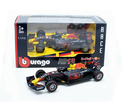 2017 Bburago 1:43 F1 Red Bull Racing RB13 #3 Daniel Ricciardo Diecast Model New
