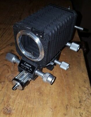 Canon Bellows FL Camera Accessory Made in Japan Nice!