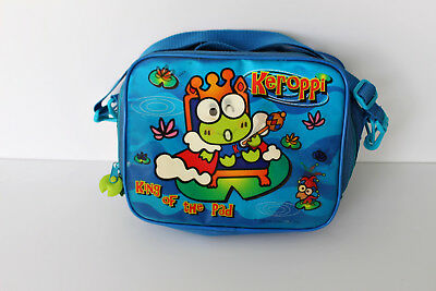 Rare! Vintage SanRio Hello Kitty Keroppi 1998 lunch bag with green froggie tag