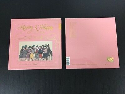 Twice 1St Album Repackage - [Merry&happy] (Happy Ver.) Cd+Pre Benetis