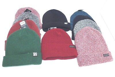 YEA.NICE Men's Cuff Beanie Winter Hat *Multicolor Cap *One SIze Fit New