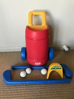 Little Tikes TotSports Easy Hit Golf Set EUC