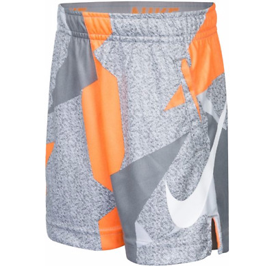 Nike Toddler Boys Dri-FIT All-Over Printed Shorts,  Size 4T Color Tart