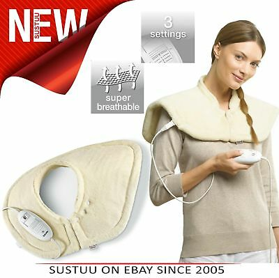 Beurer HK54 Shoulder & Neck Heating Pad│Breathable│Cosy│100W│Auto Switch Off│New