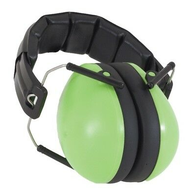 NEW Baby Banz Green Earmuffs Soft Cup Ear Muffs Kids Babies Infant Child's Lime
