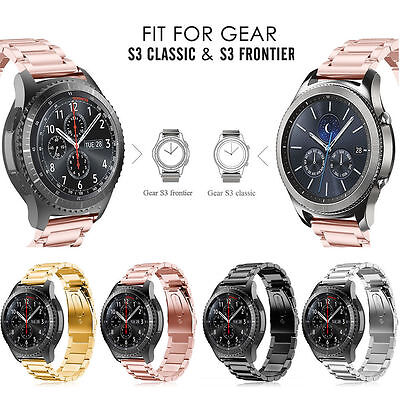 For Samsung Gear S3 Watch 22mm Stainless Steel Metal Replacement Band Straps New