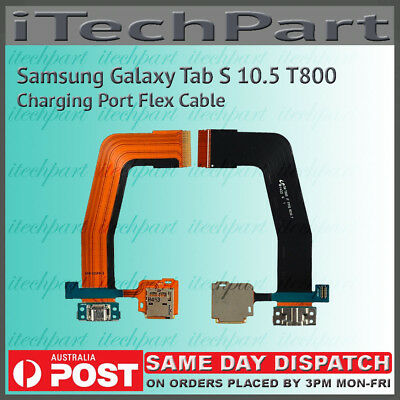 "Genuine Samsung Galaxy Tab S 10.5"" SM-T800 Charging Port Dock Flex Cable"