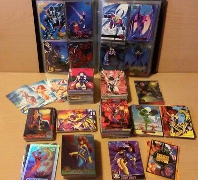 MARVEL ANNUAL 1994/1995 FLAIR CARD COLLECTION 400+ Varying Card Sets