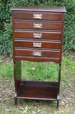 Antique Music Cabinet / Document Cabinet - Somerset Ta20