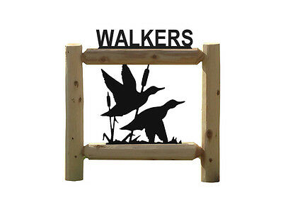 Personalized Duck Signs - Waterfowl - Duck Hunting - Ducks Unlimitied