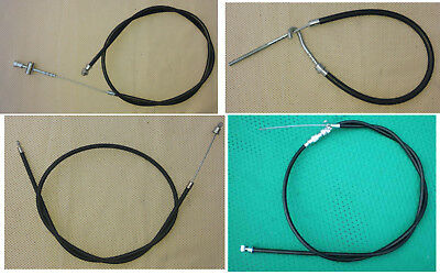 New Cables Set (Clutch, Brakes Rear +Front, Throttle) --- Jawa 350 (634,632,638)