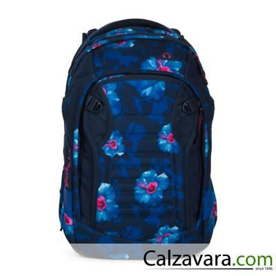 SATCH Match Zaino Backpack Scuola Ergobag - 30x22x45 cm - 30L - Waikiki Blue
