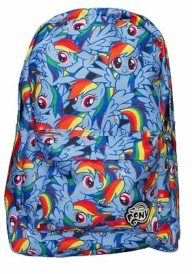 My Little Pony Rainbow Dash Pattern Backpack