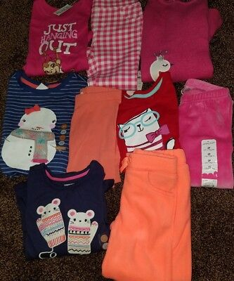 NWT Girls Size 3T Gymboree Lot of Clothes and Outfits mice