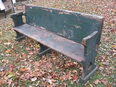 Antique Train Station Bench from Cape Cod Bergen County NJ Rockland County NY