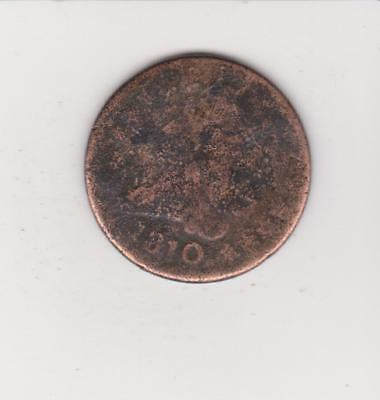 Scarce Early Date Half Cent 1810 -  - Free Shipping