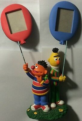 Bert And Ernie With Robin Sesame Street Double Porcelain Picture Frames Statue