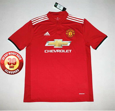 Manchester United Home Shirt 2017/18 Small, Medium, Large, Extra Large and XXL
