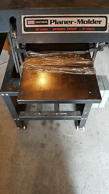 Craftsman Plner/Molder model 306.233751