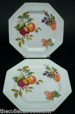 TWO Discontinued Johnson Brothers Fresh Fruit Side or Bread Size Plates 15.5cm