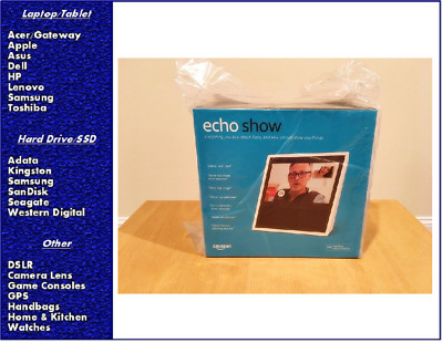 Amazon Echo Show with Alexa - White, New, Sealed