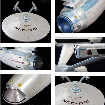 1 Star Trek U.S.S. Enterprise NCC-1701-A 1/350 unmade Largest one you can buy*