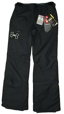 Under Armour Girls ColdGear Infrared Chutes Insulated Snowpants Ski Winter Black