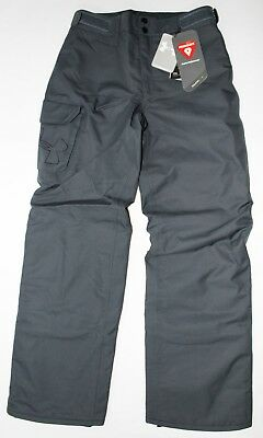 Under Armour Boys ColdGear Infrared Chutes Insulated Snowpants Ski Winter Gray