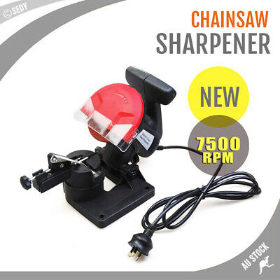 Chainsaw Sharpener Chain Saw Grinder New Pro Bench Mount Electric