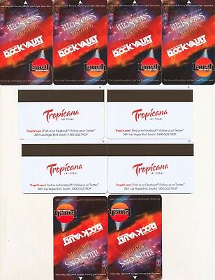 11 -- the same from--THE TROPICANA---Las Vegas,NV-----Room keys