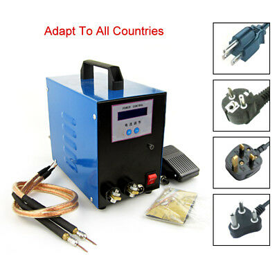 220V 10KVA Handheld Spot Welder 18650 Battery Welding Machine For 0.01mm-0.25mm