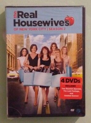 THE REAL HOUSEWIVES OF NEW YORK CITY season 2 two second DVD NEW  factory sealed