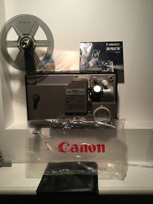 Canon S400 Cine Projector S-400 With Books And Super Rare Cover