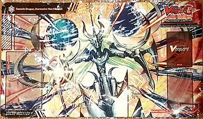 Cardfight GENESIS DRAGON HARMONICS NEO MESSIAH Sneak Preview Playmat SEALED NEW
