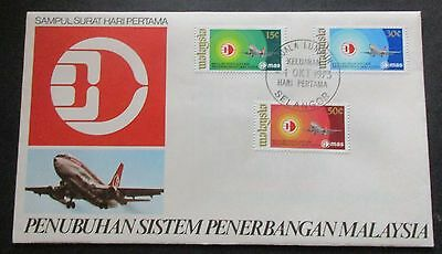 Malaysia..1973 Airline System ....fdc....with Information Booklet